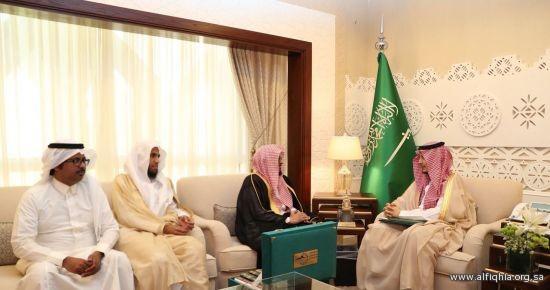 استقبل سمو نائب أمير المنطقة الشرقيه ممثلية الجمعية الفقهية