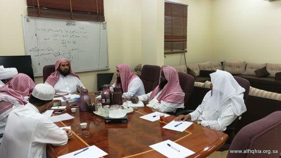 أقامت الجمعية حلقة نقاشية بعنوان (فقه أئمة المساجد)
